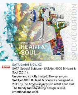 SATA Jet 4000 B HVLP (WSB) Heart & Soul Special Edition
