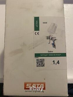 SATA Jet 5000 B HVLP 1.4 (Sailor Edition) Limited/Rare Used With Original Box