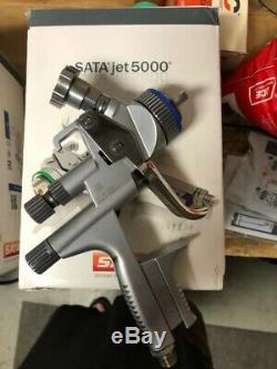 SATA Jet 5000 B RP 1.2 Paint Spray Gun Used