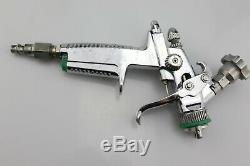 SATA MINIJET 3000 B HVLP PAINT SPRAY GUN with 1.2 SR cap & air hose fitting