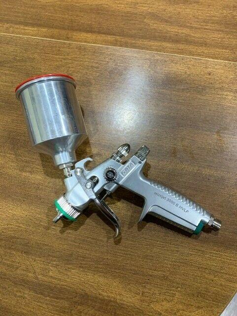 Sata Minijet 3000b Hvlp Paint Spray Gun With 1.0sr Tip Setup Totally Rebuilt