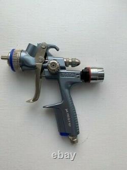 SATA Spray Gun SATAJET 100 Gravity RP 1.4 spray gun with ADAM Digital gauge