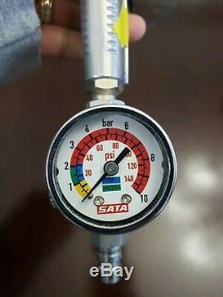 SATA Spray Gun SATAjet 5000 B RP Standard Gun 1.2 w sata gauge