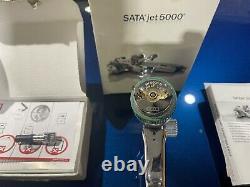 SATA jet 5000 HVLP 1.3 Spray Gun With Adam 2