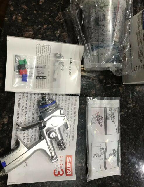 Sata Jet 5000 Rp 1.3 O Original Nozzle Spray Gun X Tools Kit