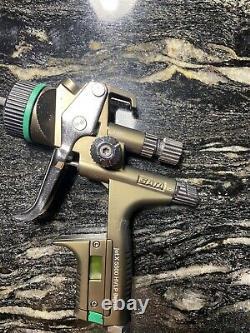 SATA jet X 5500 0 HVLP Digital 1.3mm Gravity Spray Gun I Nozzle Base Basecoat