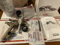 SATA jet X 5500 RP 1,3 DIGITAL Spray Gun(Compare to Binks, Devilbiss and Iwata)