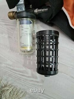 SATA satajet Vision Supplied Air Respirator full face mask complete set