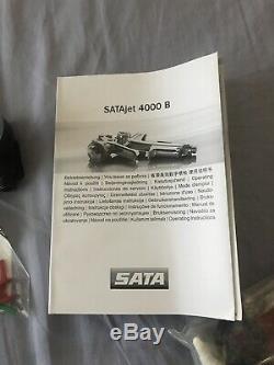 SATAjet 4000 B RP 1.3. Exelent Condition With Sata Regulator And DeKups Adapter