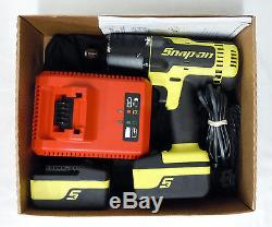 Snap-on Ct8850hv 18v Monster Lithium 1/2 Drive Impact Wrench With Bag (ch)