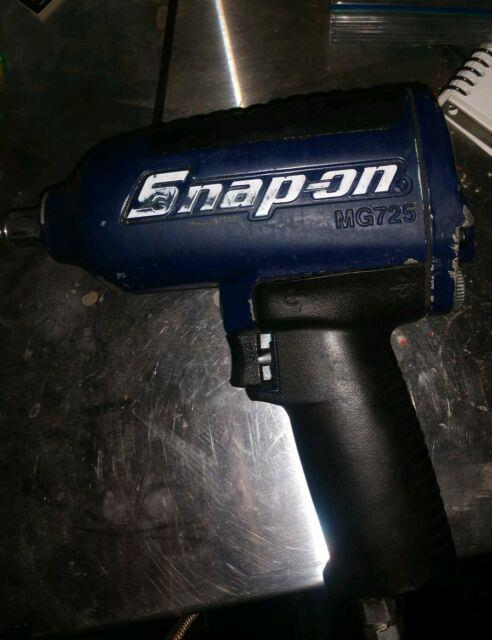 Snap-on Tools Super Duty Impact Air Wrench Mg725 1/2 Drive