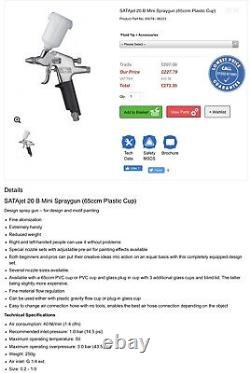 Sata Jet 20 B Spray Gun Brand New Never Used Bargain
