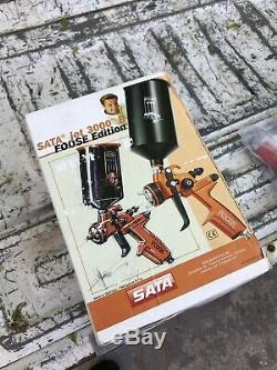 Sata Jet 3000 1.2 Rp Foose Edition Hvlp 4000 5500 5000 Adam 2 Dock 1.3 1.4