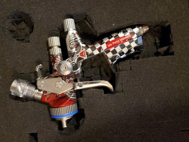 Sata Jet 5000 Hvlp Axalta Ed And Iwata Supernova Spray Gun