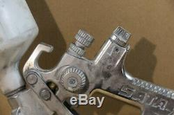 Sata Jet Druckluft Lackierpistole mit Fließbecher #29919