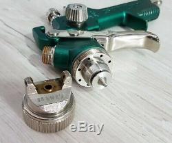 Sata Satajet NR 95 1.3 HVLP spraygun with a brand new spray gun cup / pot
