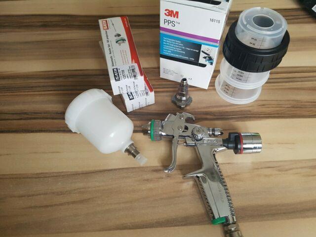 Sata Minijet 3000, Adam 2 Digital Druckminderer + Zubehör
