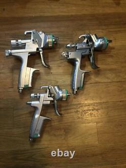 Sata spray case! Jet 5000 B HVLP, Jet 100 B F HVLP, Minijet 4400 B HVLP, Cup