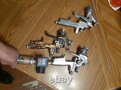 Sata spray gun lot jet 3000, jet 4000, iwata hte 2