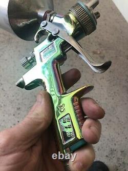 SataJet 2000 HVLP, SataJet NR2000, spray paint gun 1.3 Just rebuilt