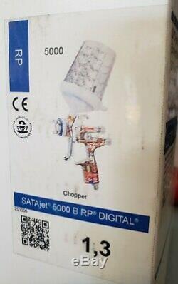 Satajet Sata Jet Spray gun 5000 B 1.3 RP Chopper Edition digital
