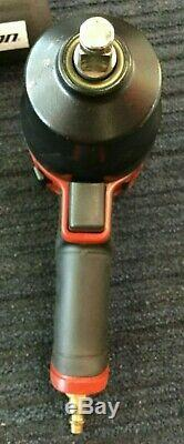 Snap-On 1/2 Drive Air Impact Wrench Gun PT850 with Boot Sleeve Works Great