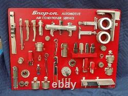 Snap-On AC Automotive Shadow Board HVAC Air Conditioning Includes Tool Set VE312