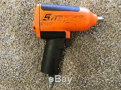 Snap On Air Impact Wrench Heavy Duty, Magnesium Housing, Orange, 1/2 Drive Mg7