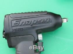 Snap On Black / Matte Black Mg325 3/8 Drive Impact Air Wrench Gun Freeship