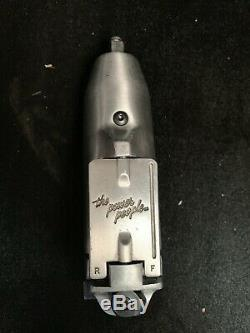 Snap-On IM32 3/8 Pneumatic Butterfly Rotary Action Impact Air Wrench WithCover