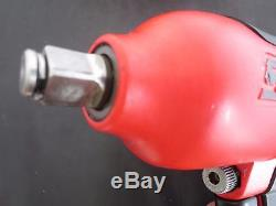 Snap On MG 725 Pneumatic / Air 1/2 Impact Wrench Rare Matte Red Excellent