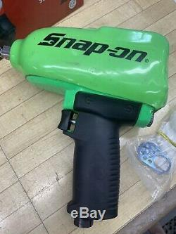 Snap-On MG725 Green 1/2 Impact Wrench Excellent Condition