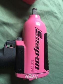 Snap On Mg725 Pink Impact Wrench, 1/2 Drive