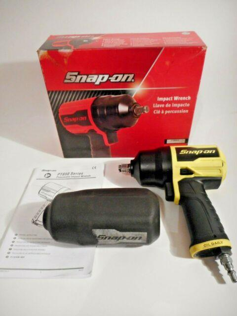 Snap-on Pt850hv 1/2 Drive Impact Wrench With Cover, Rare Yellow, Fast Free Ship