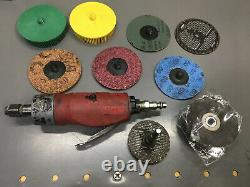 Snap-On Straight Die Grinder PT200 with $50++ valued Pads & Disc