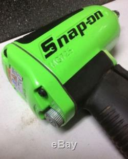 Snap On Tools 1/2 Drive Green Heavy Duty Air Impact Wrench MG725