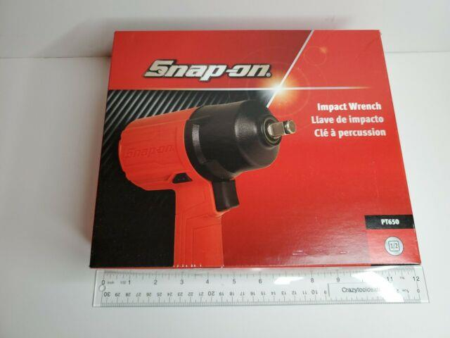 Snap On Tools New Never Used Pt650 1/2 Air Impact Wrench With Protective Boot