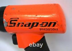 Snap-On Tools Orange Super-Duty Quick Change Chuck Air Hammer PH3050B Ships Free