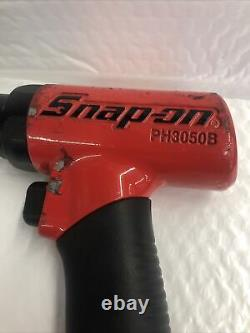 Snap On Tools Super Duty Red Air Hammer PH3050B Used