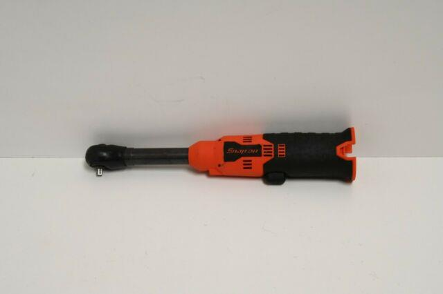 Snap-on 1/4 Dr 14.4v Microlithium Cordless Ratchet Ctr717o Long Neck Tool Only