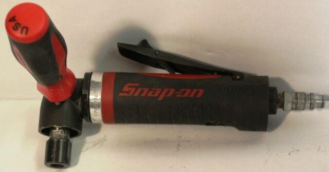 Snap-on Pt410 1hp Heavy Duty Right Angle Die Grinder