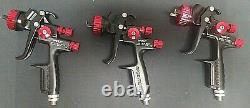 Spectrum Black Widow 56153 HVLP Professional Spray Guns Like New