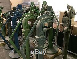 Stimpson #10 Foot Riveting Machine CE100 or Split Rivets PICKUP ONLY