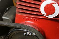 Thomas SprayIt Air Compressor Art Deco vintage antique Rocket Red industrial