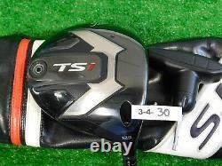 Titleist TS1 12.5 Driver Air Speeder 40 Regular Graphite with Headcover & Tool