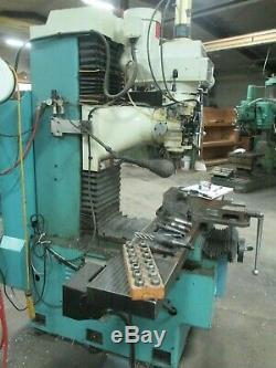 USED ProtoTrak DPM 3-Axis Bed Mill with Air Powered Drawbar & Tooling