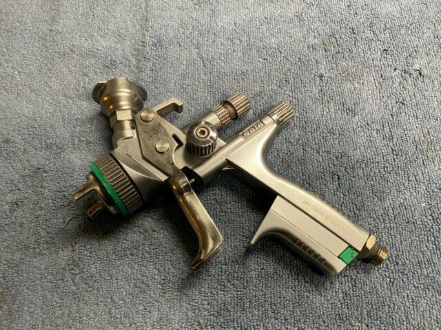 Used Sata Jet 5000 B Paint Spray Gun Made In Germany Tip 1.3