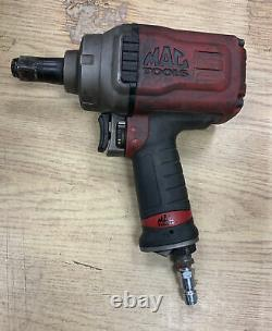 Used Mac Tools 3/4 Drive Titanium Air Impact Wrench- AWP075 Recent Service Tool