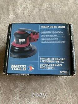 Used Matco Tools 3/32 RANDOM ORBITAL PNEUMATIC 6 PALM SANDER- MT4151