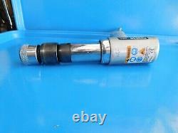 Used, Snap On Tools Long Barrel Air Hammer, Bit Holder & Air Hose Swivel, USA
